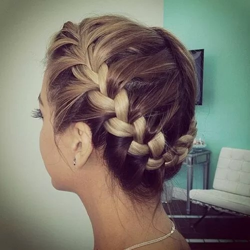 French Crown Braids