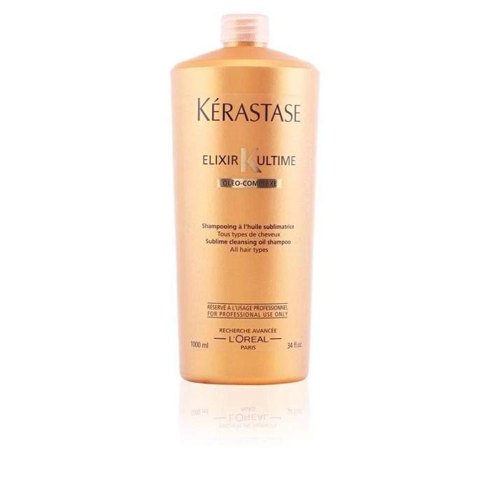 Elixir Ultime Cleansing Oil Shampoo 1000ml