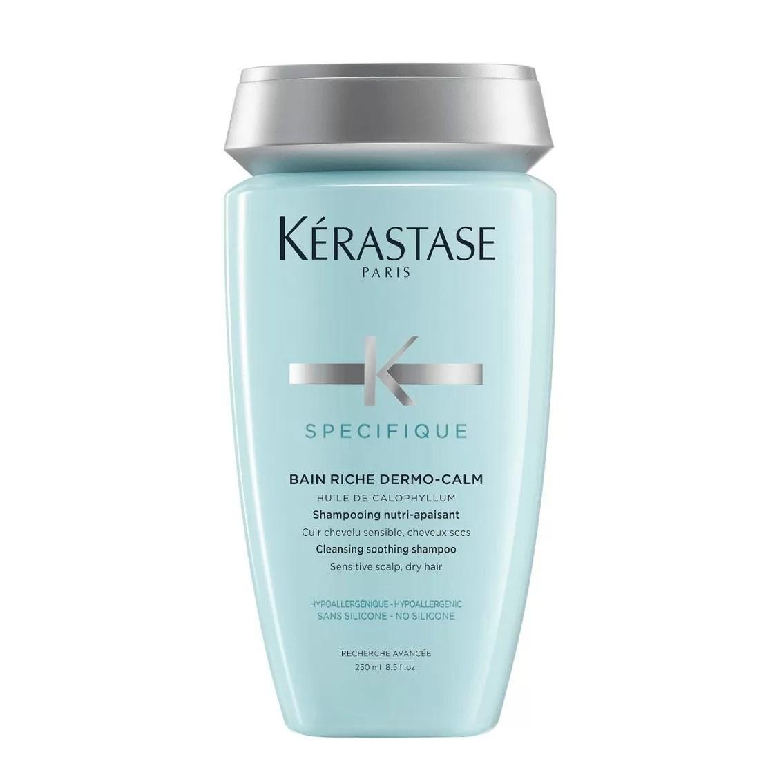 Kerastase Specifique Bain Riche Dermo-Calm Cleansing Soothing Shampoo (Sensitive Scalp, Dry Hair) 250ml