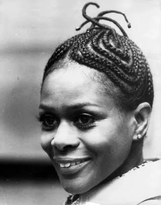 1973: Cornrows Actress Cicely Tyson once again inspired a beauty ...
