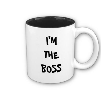 im_the_boss_mug