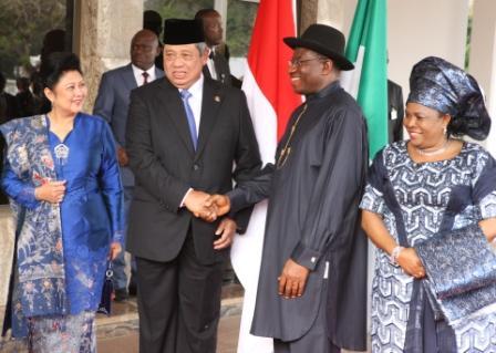 Jonathan and Indonesian President