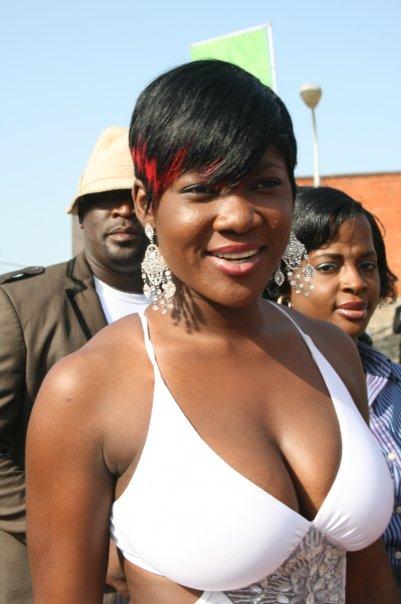 Mercy Johnson's boobs 2
