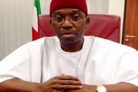 Delta Governor, Ifeanyi Okowa