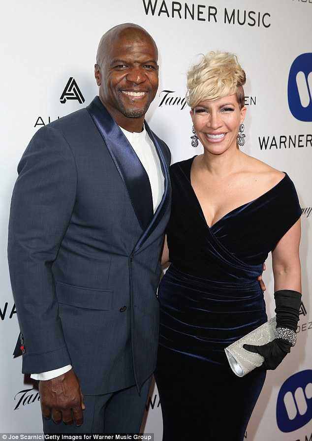 Terry Crews and wifee