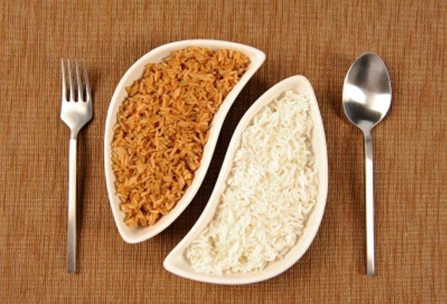 White-rice-and-brown-rice