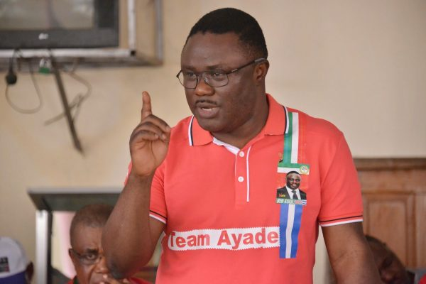 Governor Ben Ayade shortly after the elections
