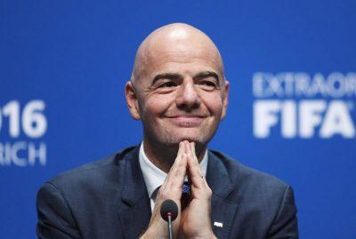 FIFA President Gianni Infantino