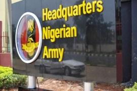 Army headquarters