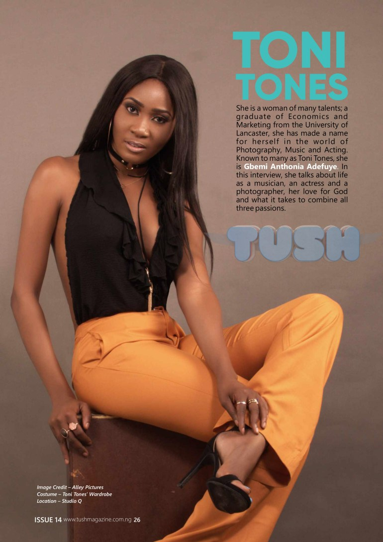 Tush Magazine `Issue #14.cdr