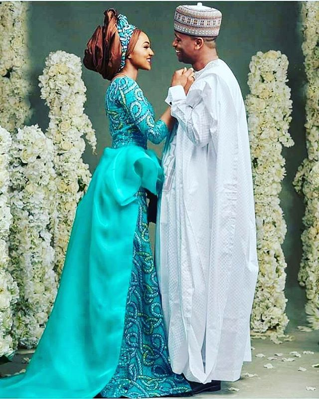 Zahra Buhari welcomes her first child