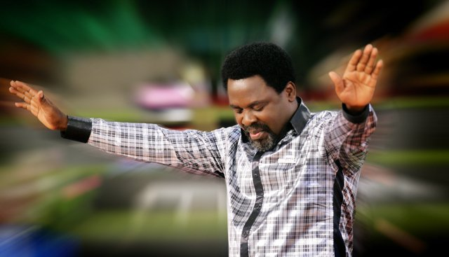 Pastor T.B Joshua of the Synagogue Church of All Nations