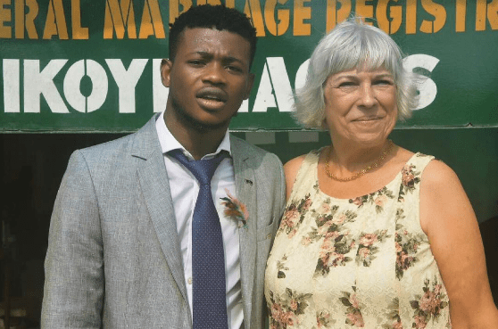 Photos Young Nigerian Man Married To Older White Woman