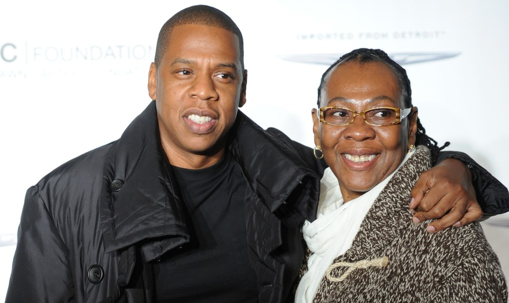 jay-z-and-mother