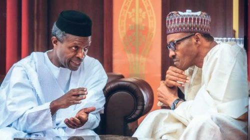 Image result for Reason why BuhariOsinbajo