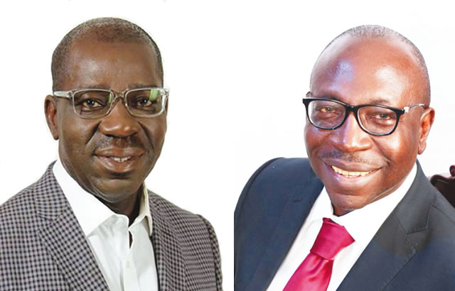 Ize-Iyamu and Godwin Obaseki