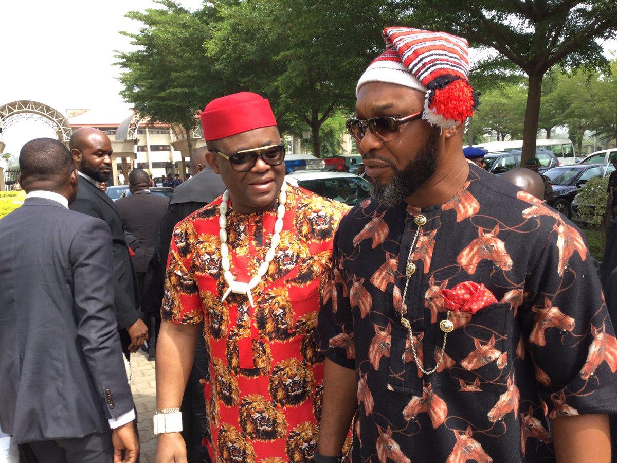 Fani-Kayode Appears In Court Dressed In Igbo Regalia