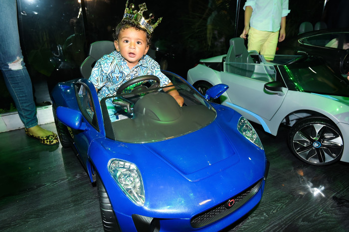 MIAMI, FL - OCTOBER 21: Asahd Khaled attends  Tot Living By Haute Living Celebrates Asahd's First Birthday With Cybex on October 21, 2017 in Miami, Florida.  (Photo by Romain Maurice/Getty Images for Haute Living)