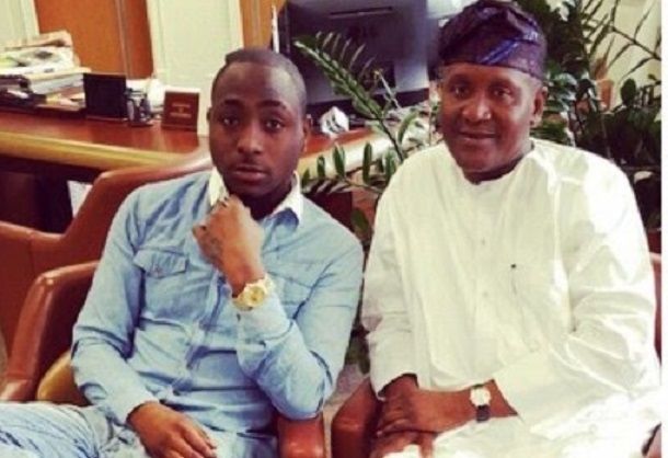 Aliko Dangote Carried Davido home as a Baby - Aigbode