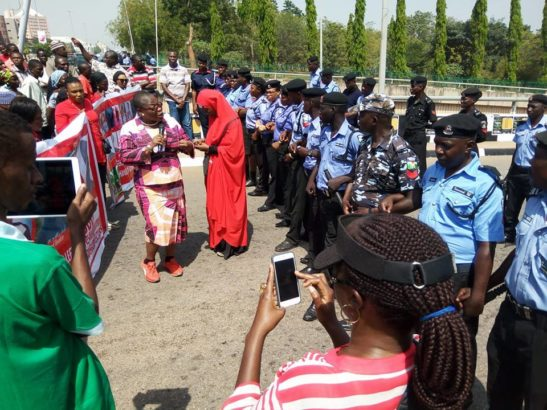 PHOTOS: Police Officers Stationed to Stop BBOG Protesters Break Down In Tears