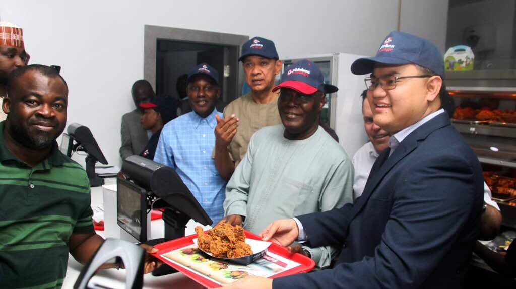Atiku Opens Chicken Cottage Outlet