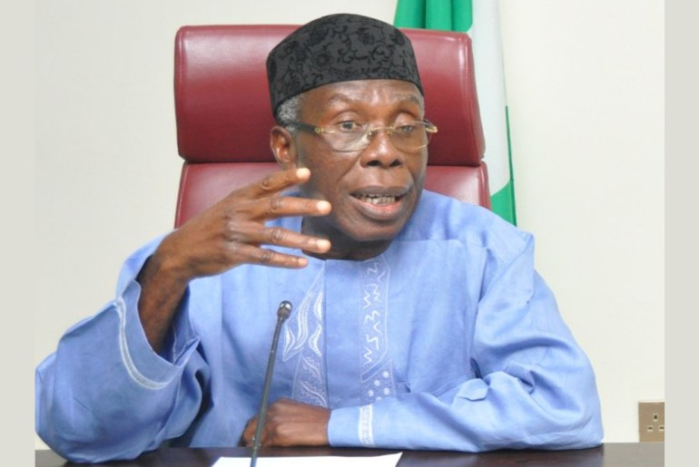 Agriculture Minister, Audu Ogbeh
