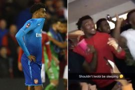 Alex iwobi meme 'shouldnt he be sleeping'