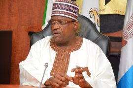Yobe governor, Ibrahim Gaidam