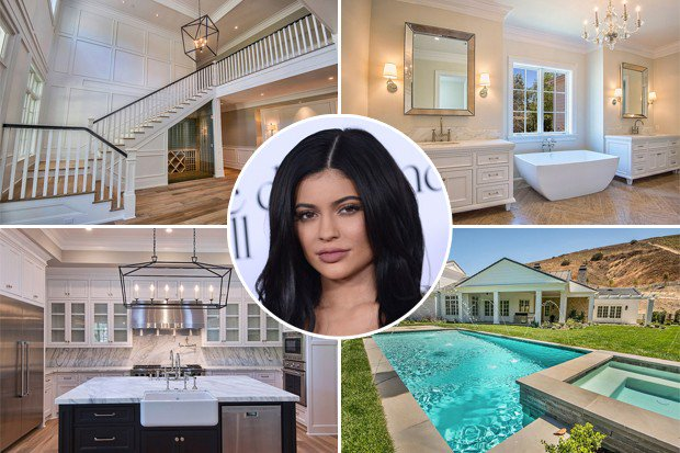 Kylie Jenners new $12m mansion
