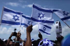 israel locals celebrate independence