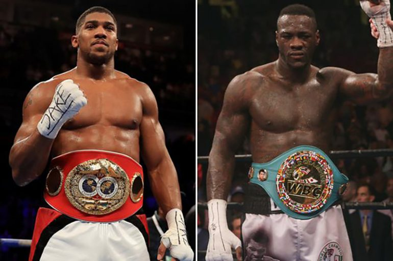 Wilder, Joshua agree to fight deal