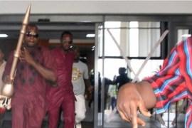 Thugs running away with Senate Mace