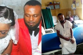 kevin uvo and wife, kevin uvo in hospital