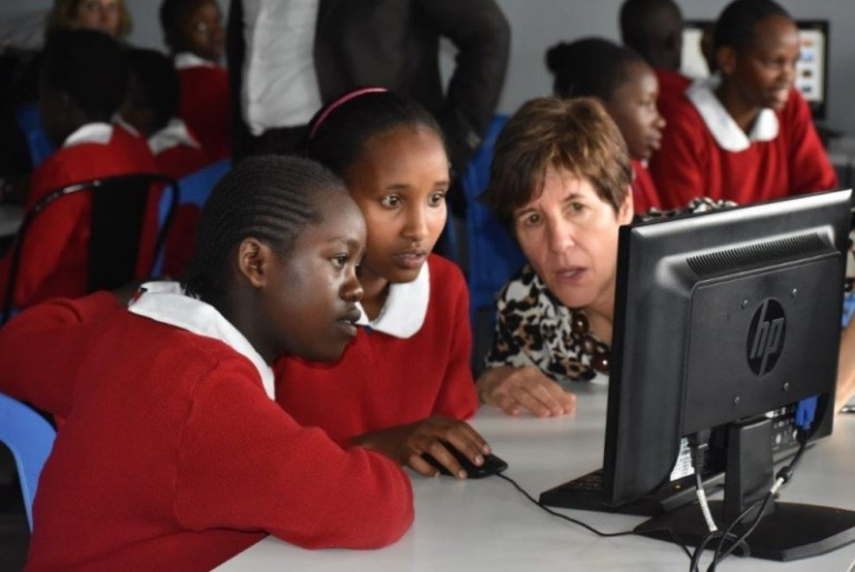 General Electric, Microsoft, Kids Comp Camp Collaborate to get more Kenyan Girls into Science and Technology