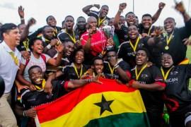 Ghana Rugby Team
