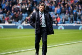Photo of Graeme Leaving the Pitch