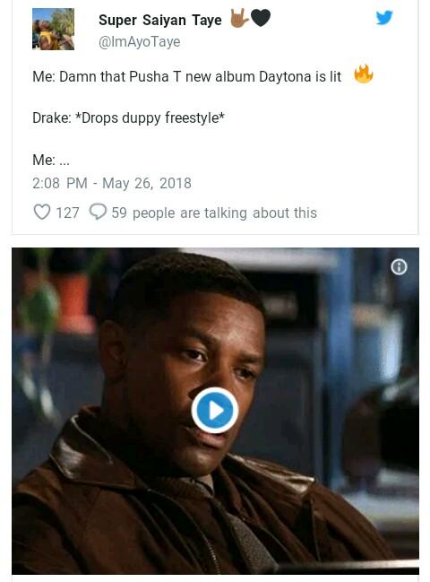 Twitter Reactions Screenshot