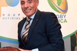 Abdelaziz BOUGJA, Chairman of World Rugby's African association, Rugby Africa