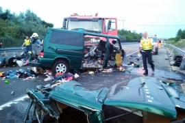 highway-accident-in-Hungary