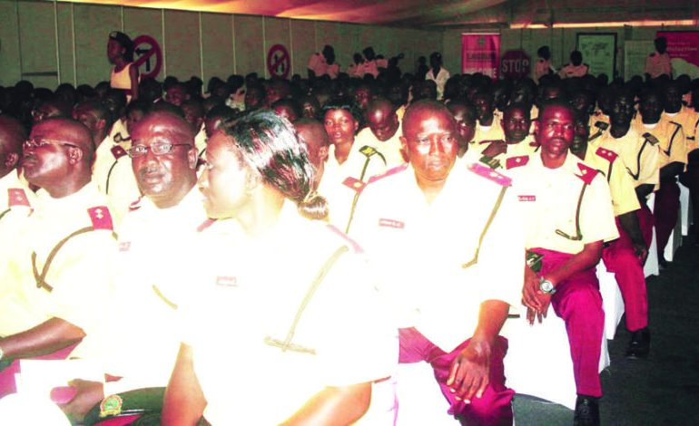 Cross Section, of LASTMA, During the First Lagos Traffic Management Conference, Theme Unlocking the Gridlock, Keep Lagos Moving with Pride, Held at Eko Hotel