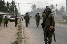 mozambique police