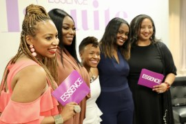 Peace Hyde, Vanessa Simmons, Karen Civil and Mc Lyte speak At 2018 Essence E Suite Panel in New Orleans
