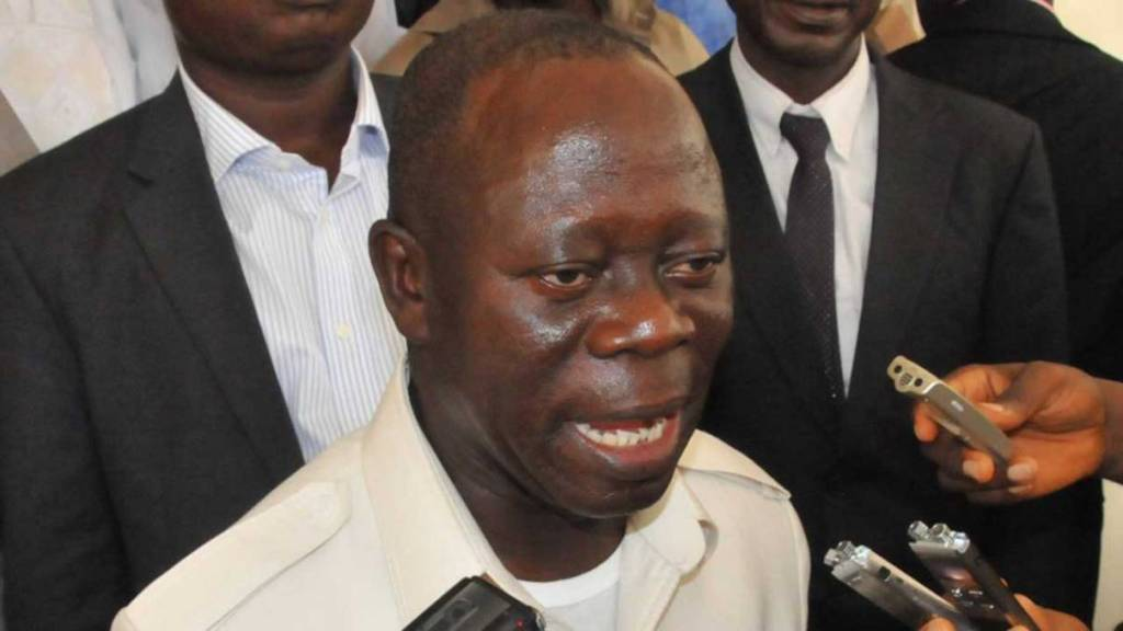 New APC National Chairman, Adams Oshiomhole