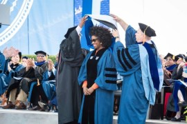 Duke University honours Adichie