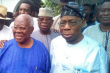 Bode George and Obasanjo