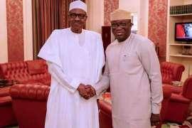 President-Muhammadu-Buhari-with-Dr-Kayode-Fayemi ekiti elections
