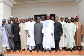 Saraki, Ortom, Tambuwal, Wike and other PDP members