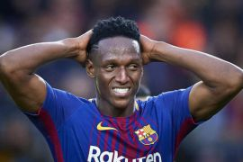 Barcelona defender, Yerry Mina