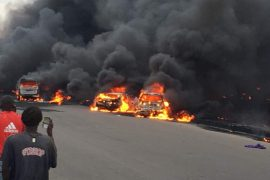 Otedola bridge explosion