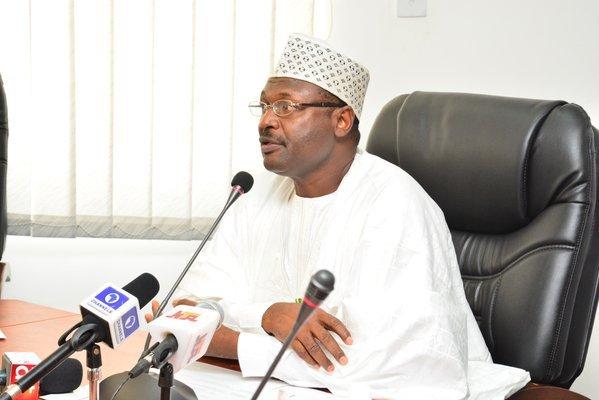 INEC Chairman, Prof Mahmood Yakubu